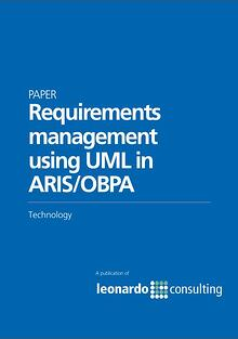 Requirements management in ARIS/OBA