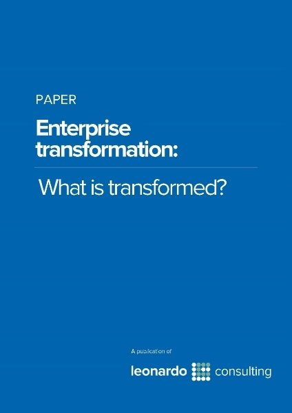 Enterprise Transformation