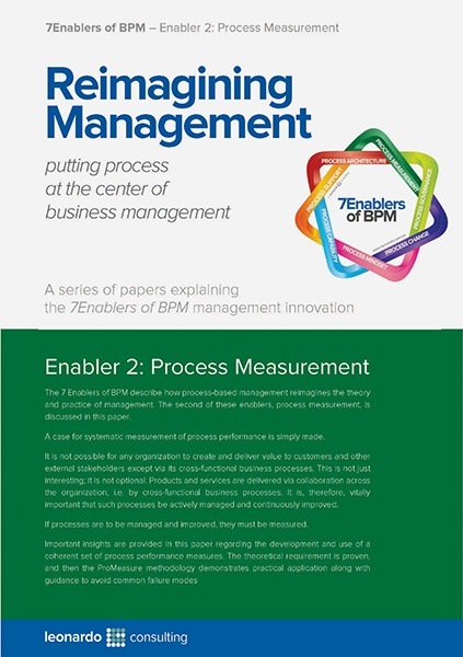 7 Enablers of BPM - Process Measurement